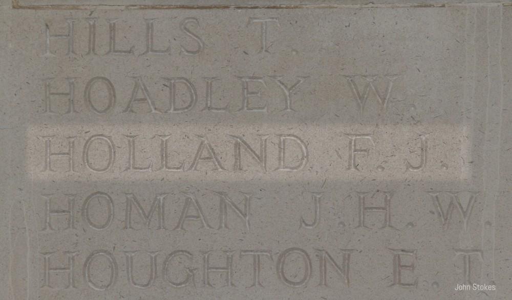 Frederick John HollandKnown informationUser contributions