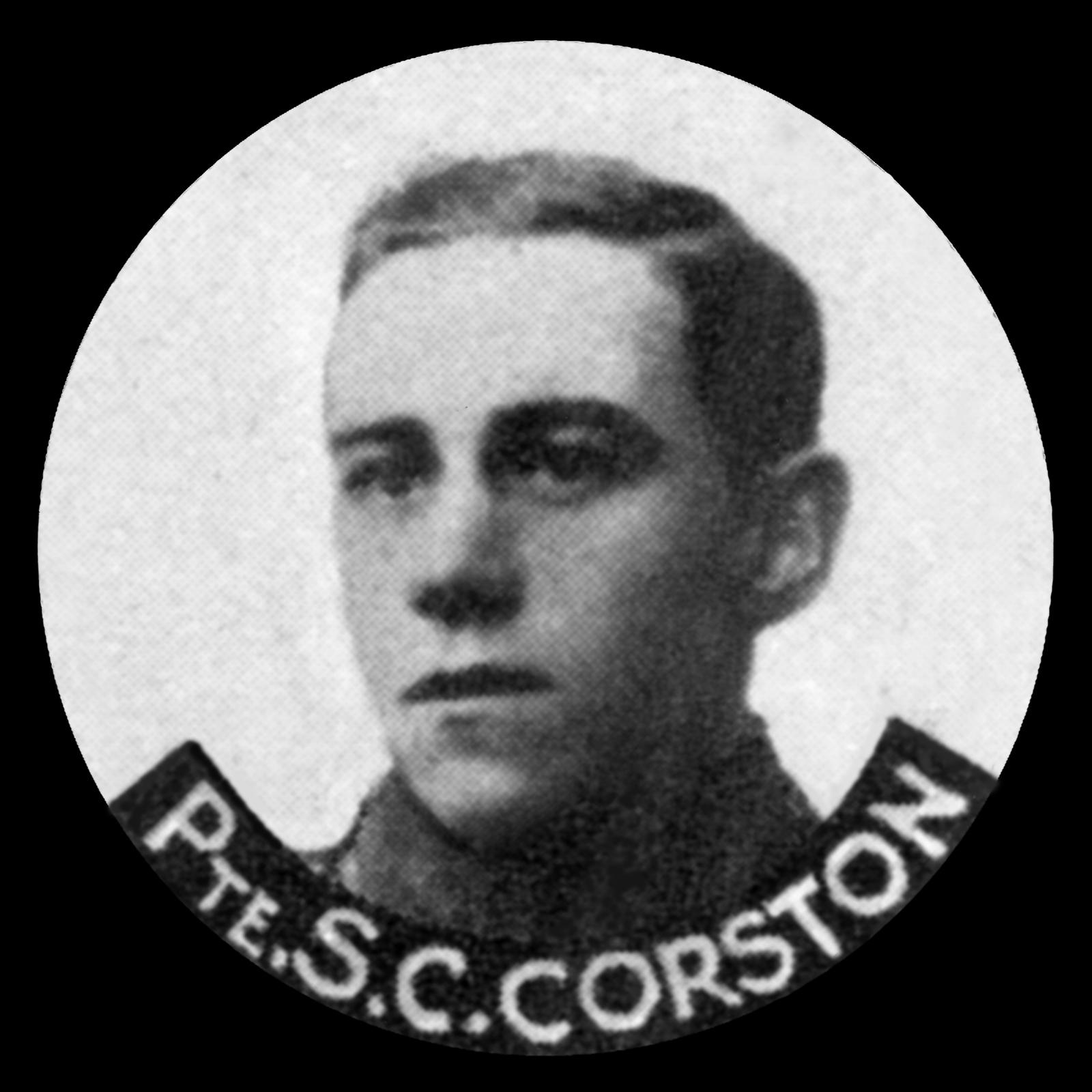 CORSTON Sidney Charles