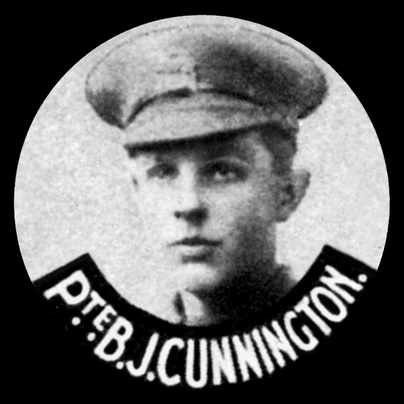 CUNNINGTON Bernard John