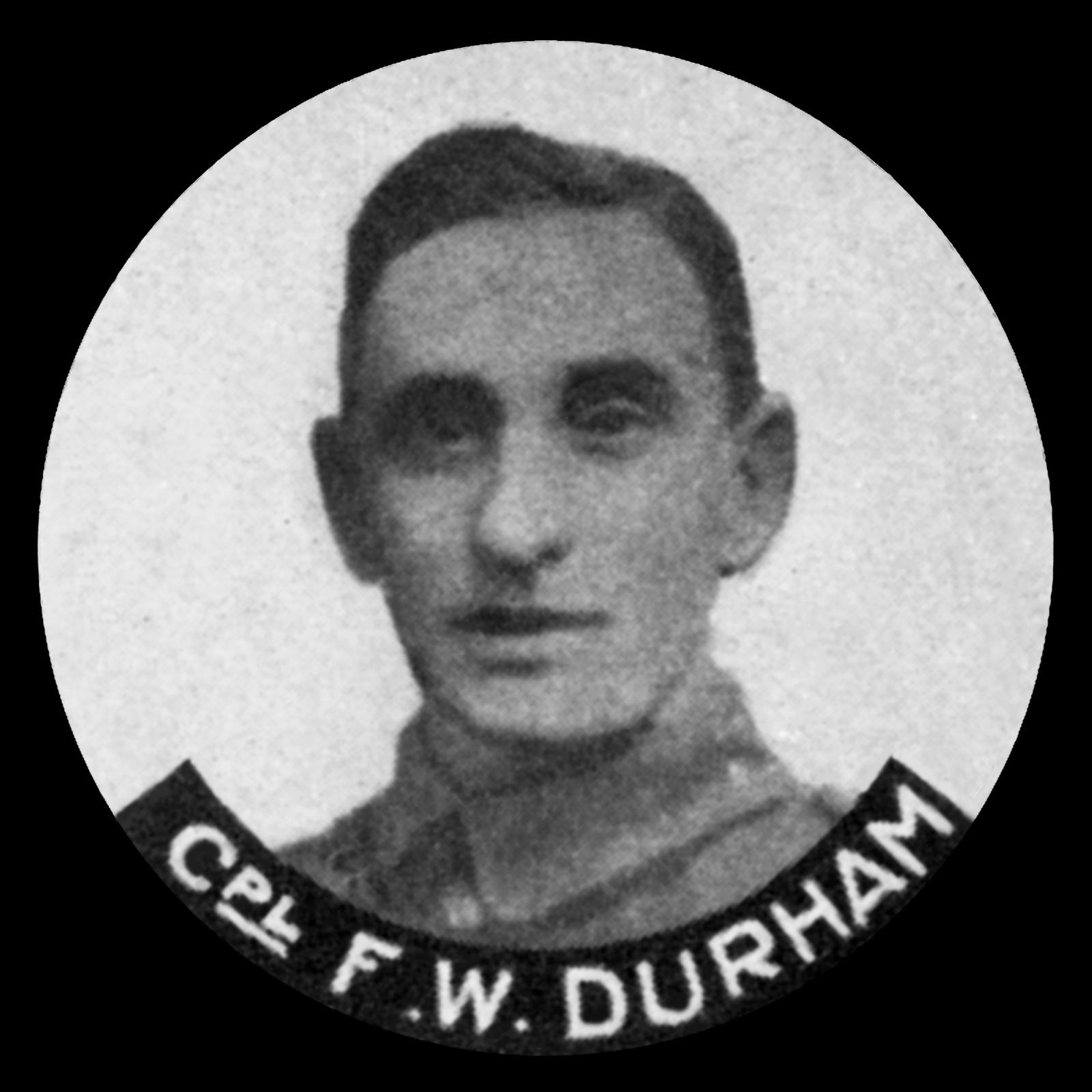 DURHAM Frederick William