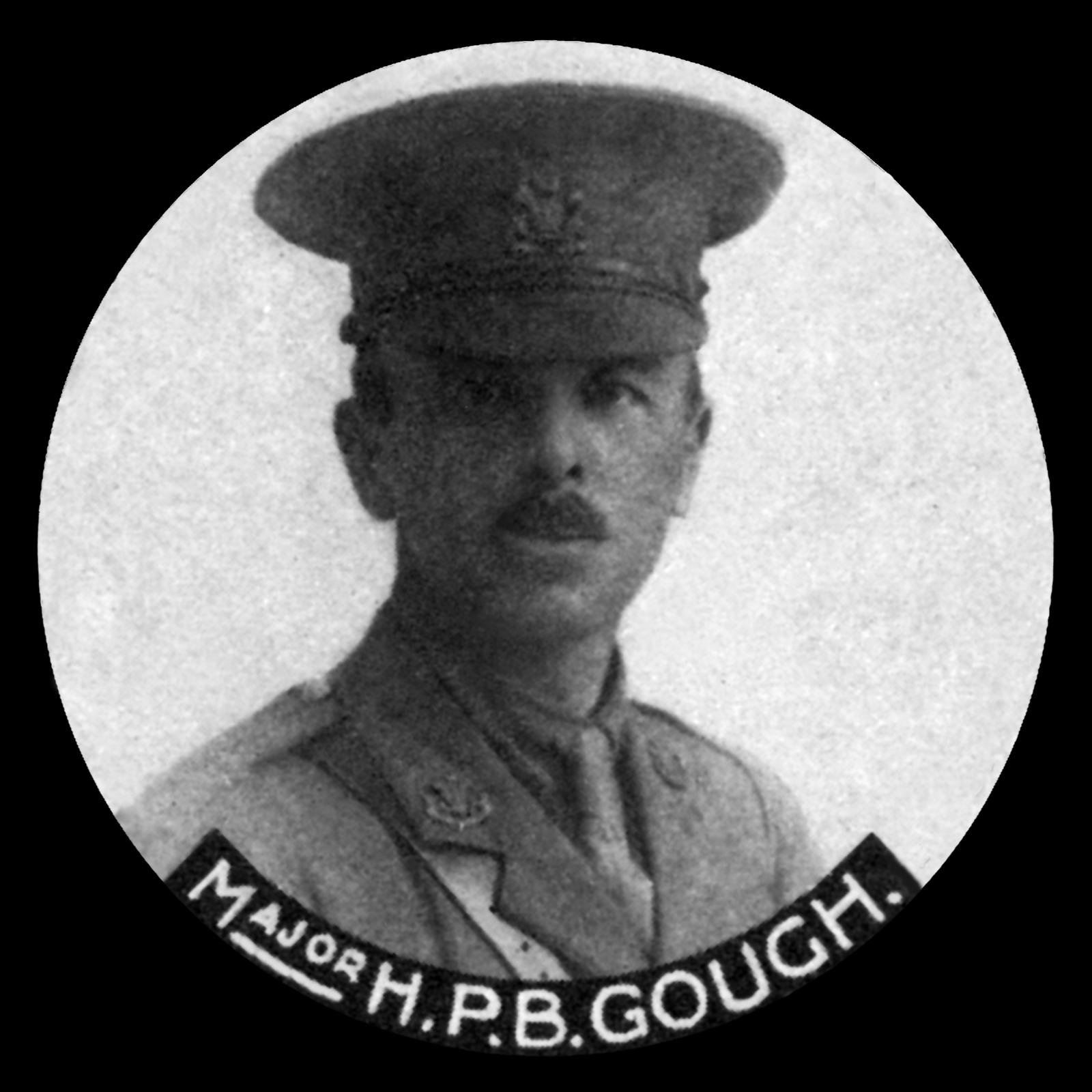 GOUGH Harry Percy Bright, MC and Bar