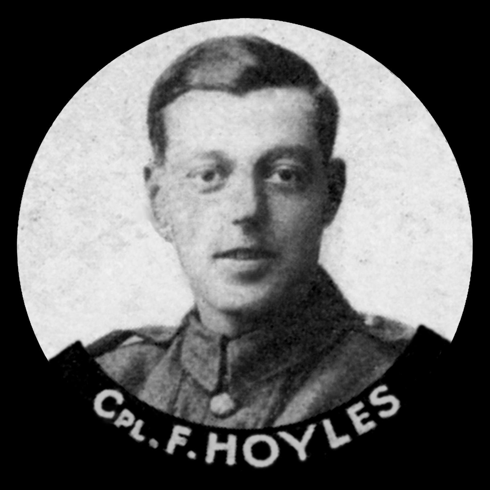 HOYLES Frank