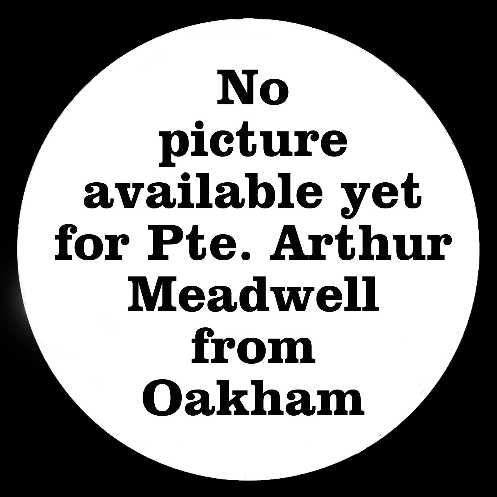 MEADWELL Arthur