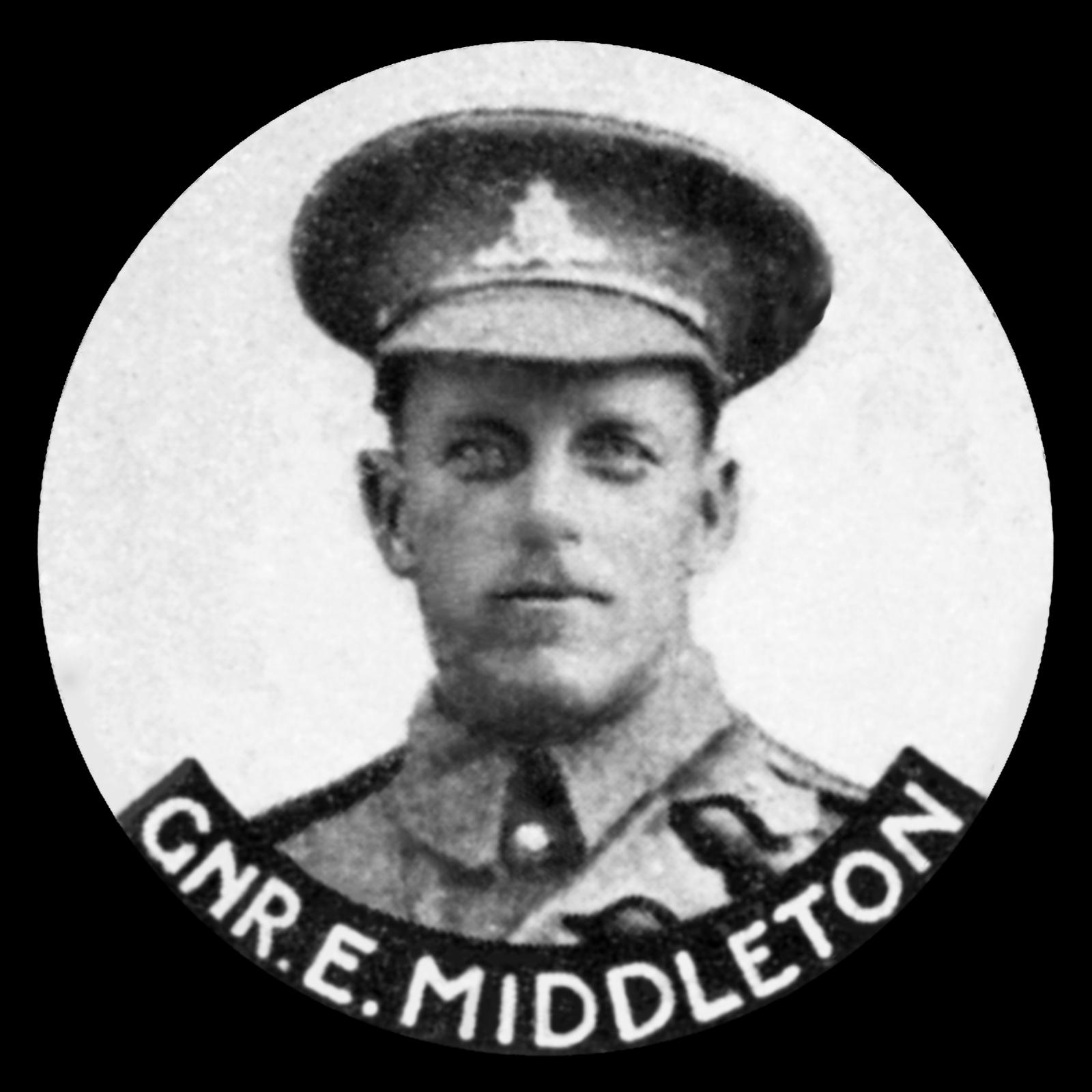 MIDDLETON Thomas Ernest