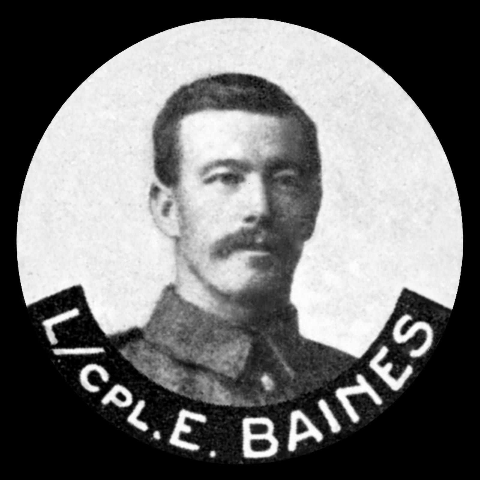 BAINES Edward