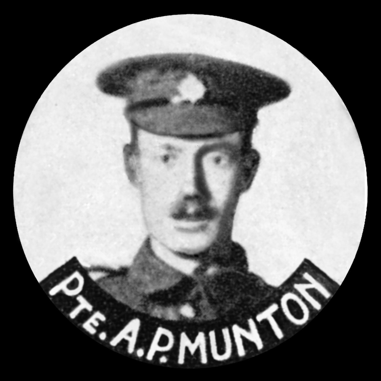 MUNTON Arthur Porter