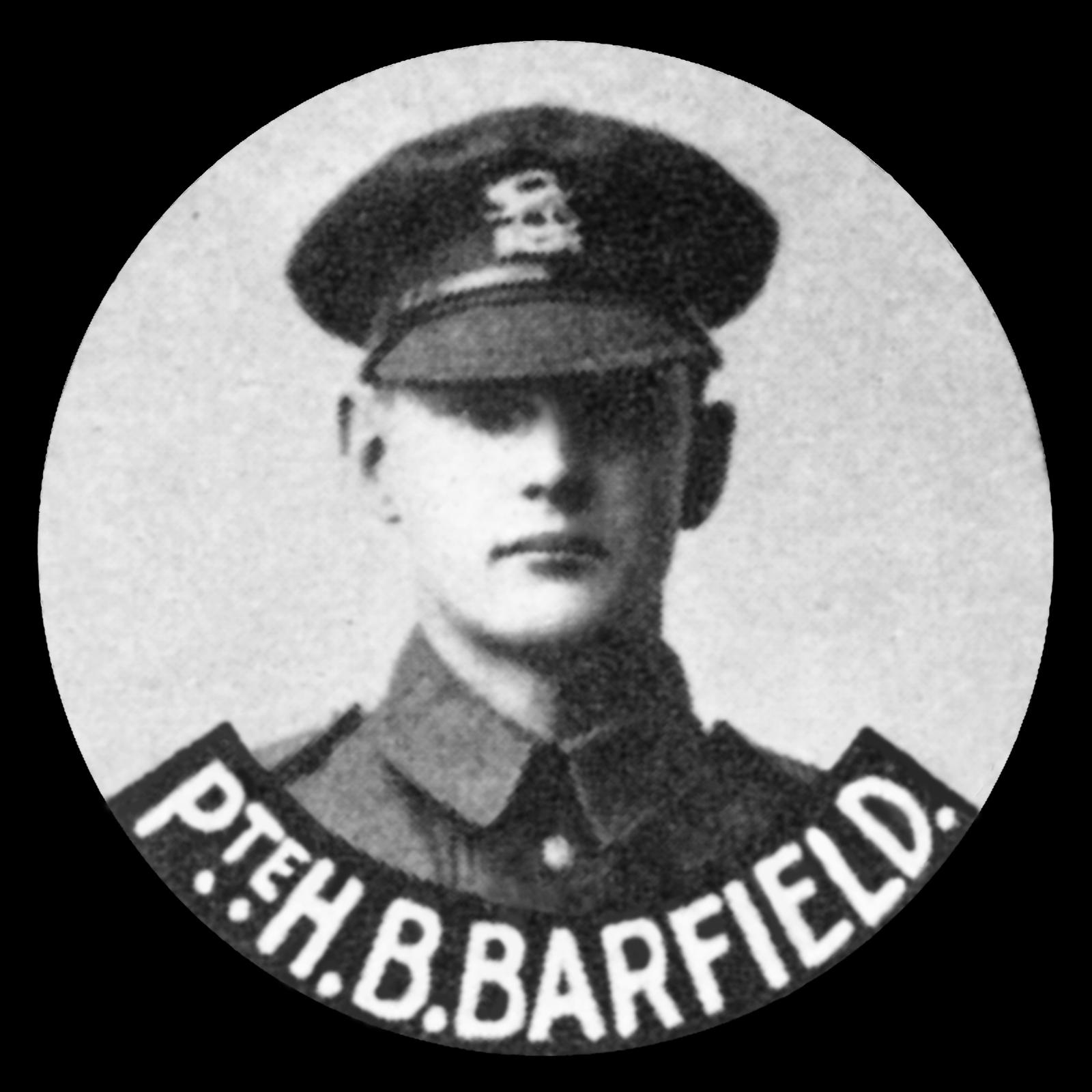 BARFIELD Harold Barnett