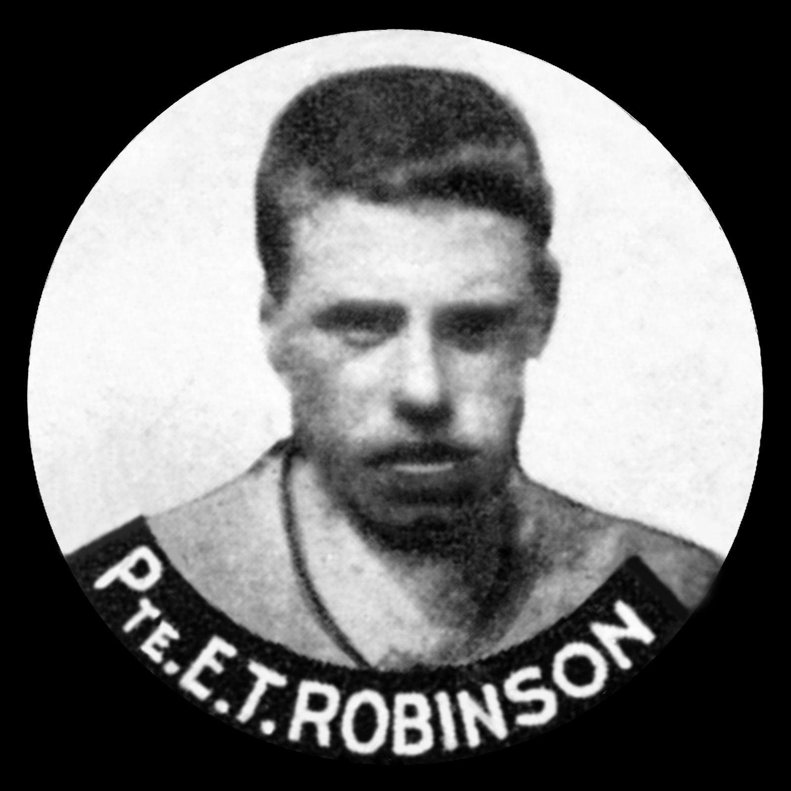 ROBINSON Ernest Thomas