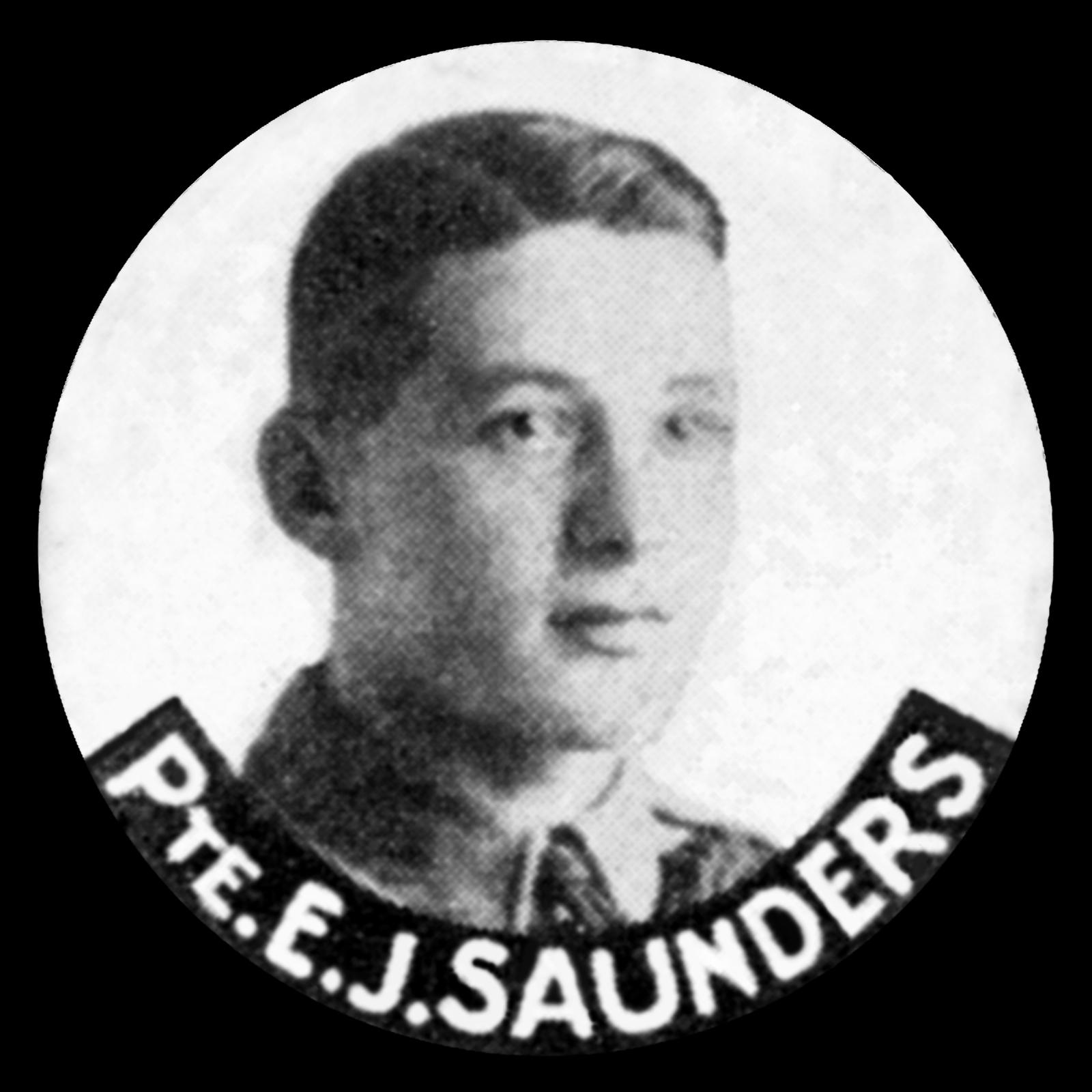 SAUNDERS Ernest John