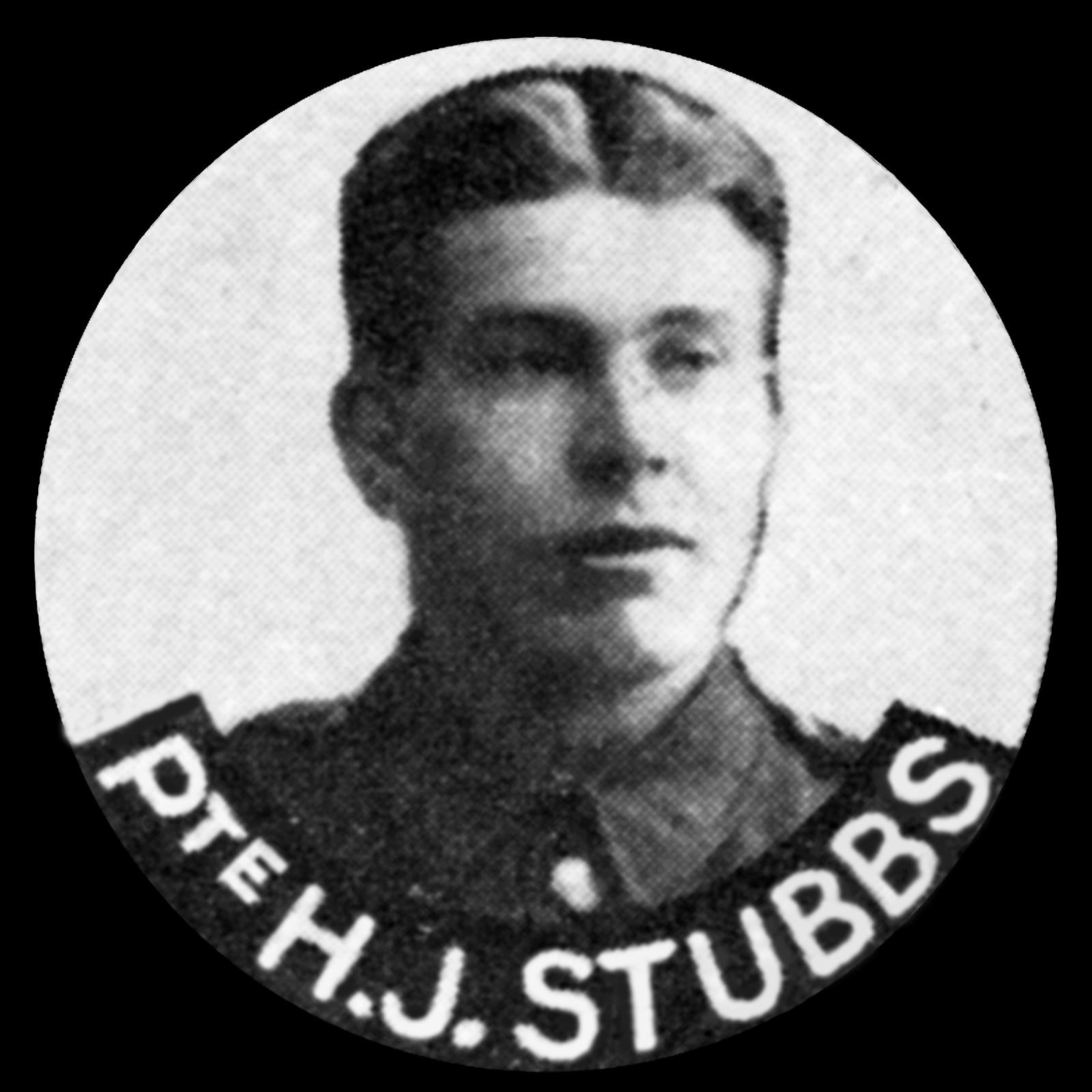 STUBBS Henry Job