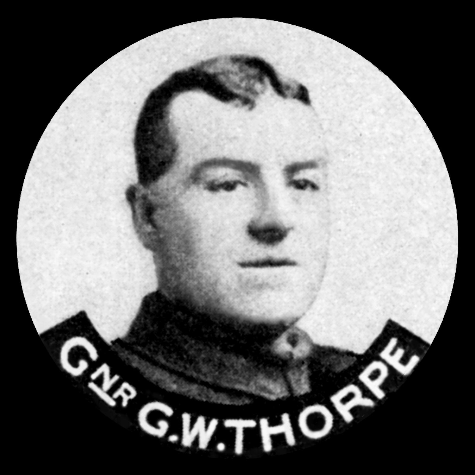 THORPE George William