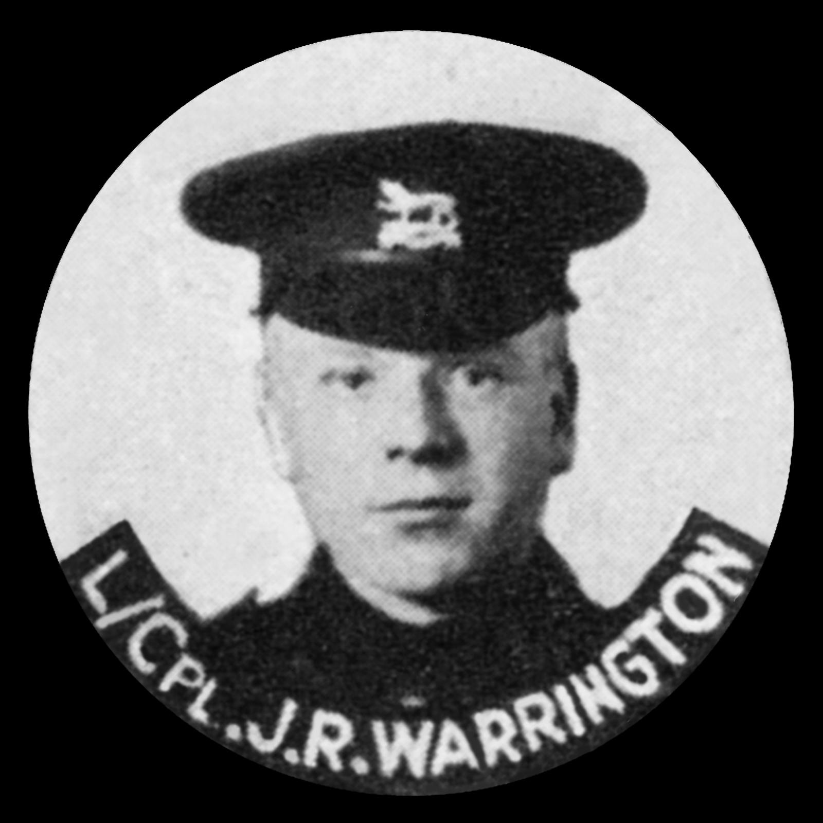 WARRINGTON John Robert