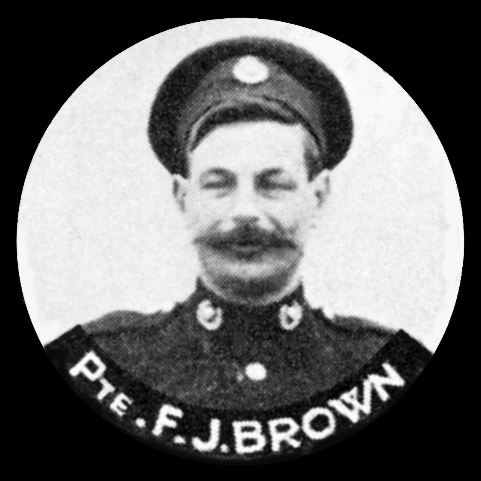 BROWN Frederick James