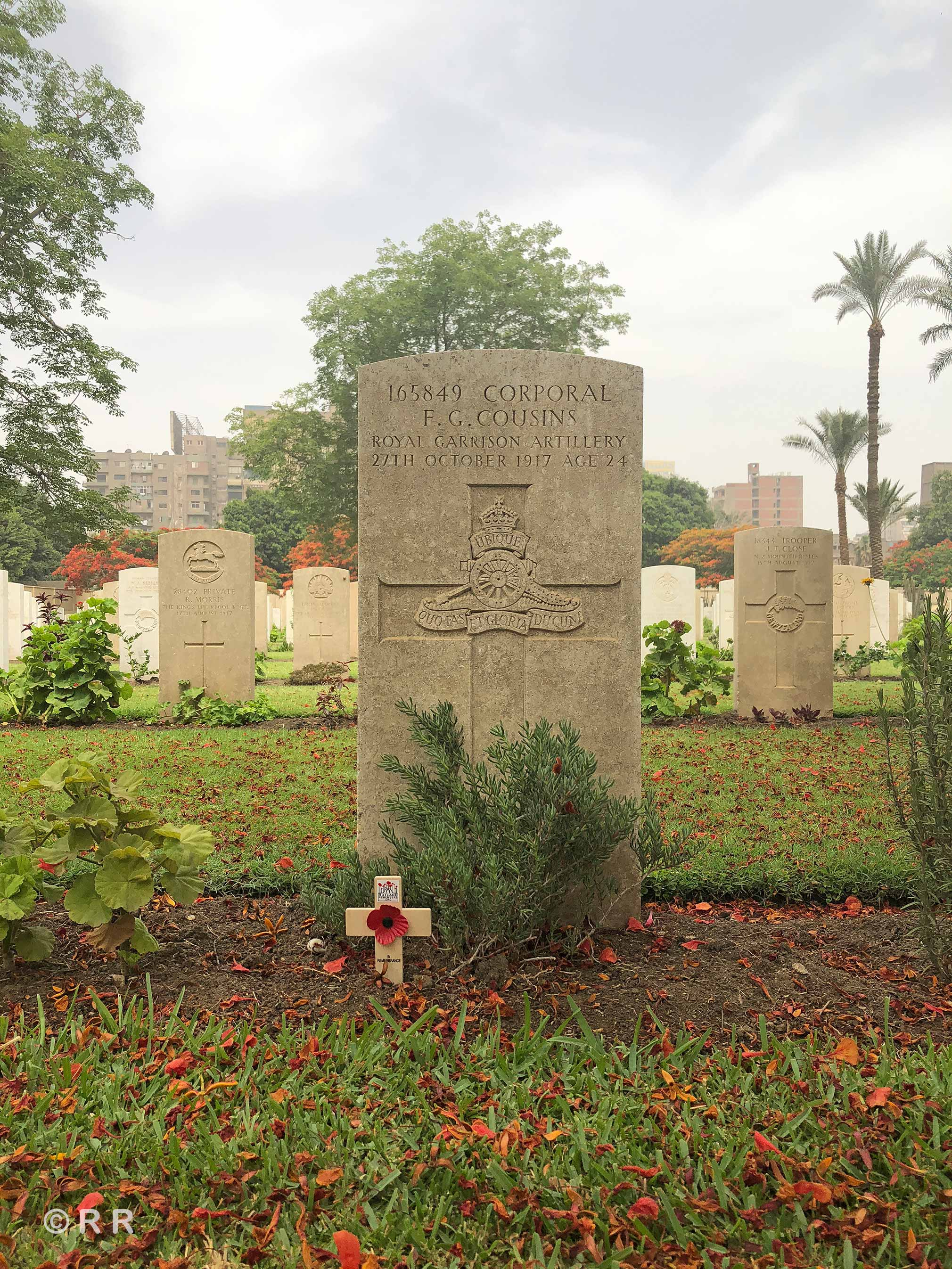 Cairo War Memorial Cemetery