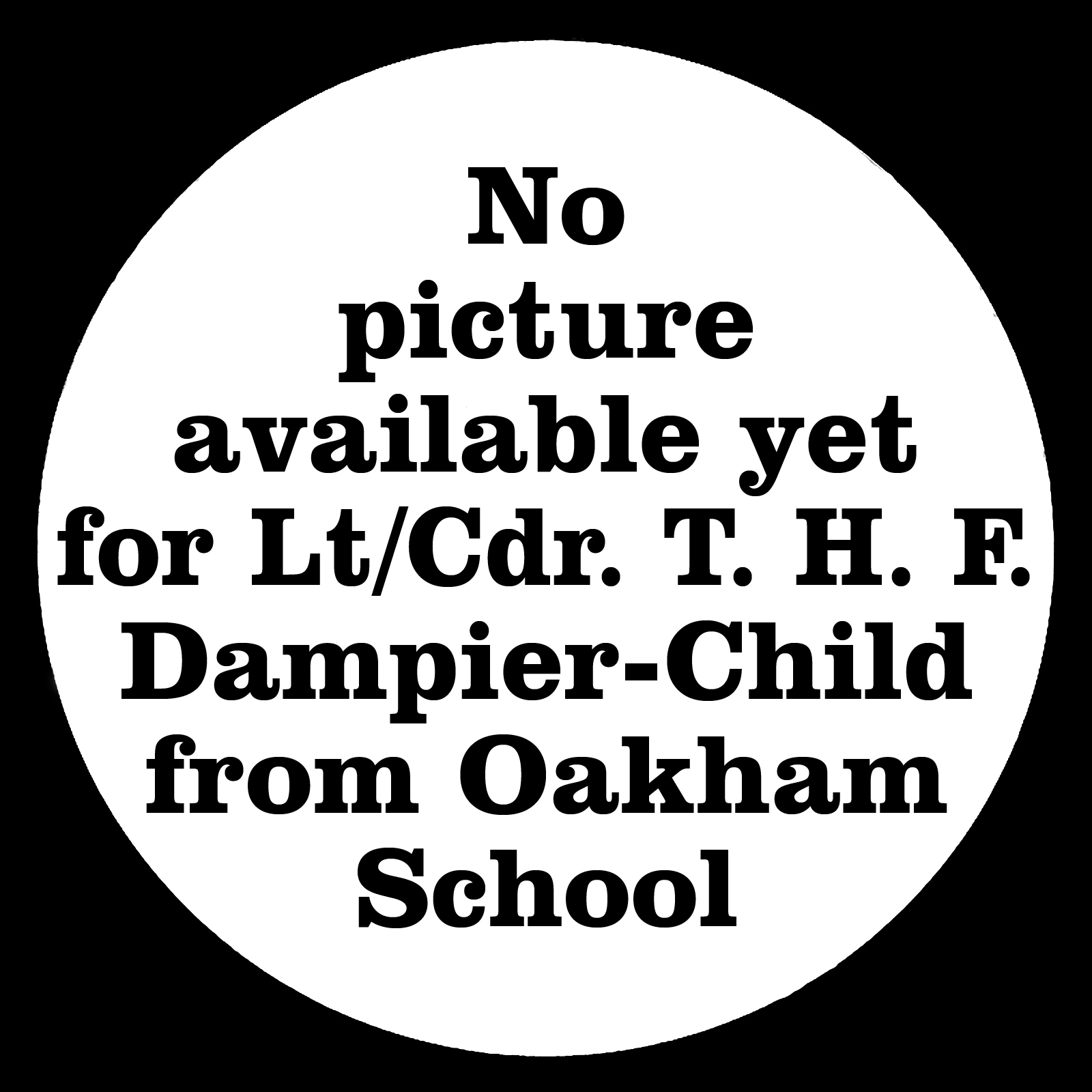 DAMPIER-CHILD Thomas Henry Fielder