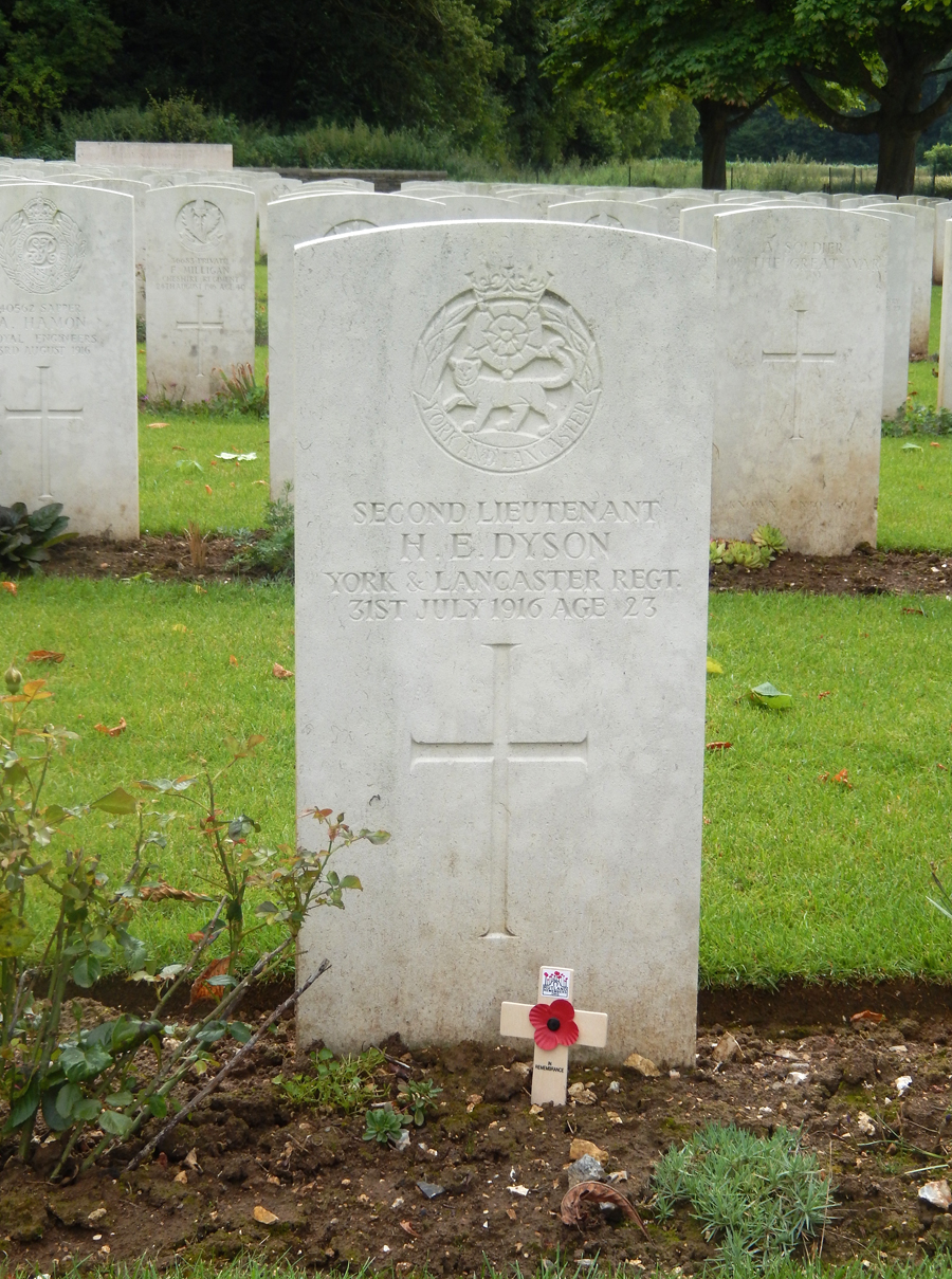 Blighty Valley Cemetery in France   Rutland Remembers
