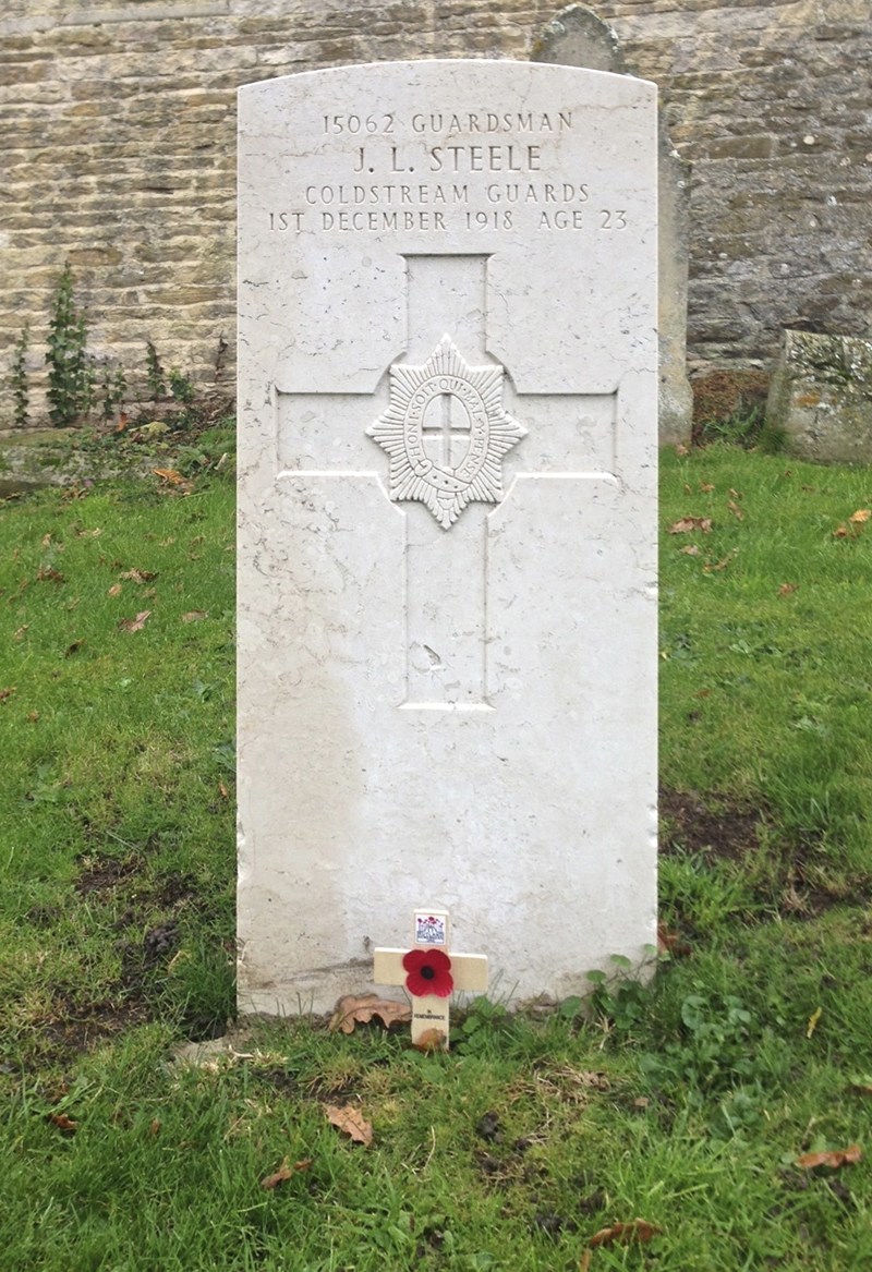 North Luffenham War Memorial and Churchyard (St John the Baptist Church)