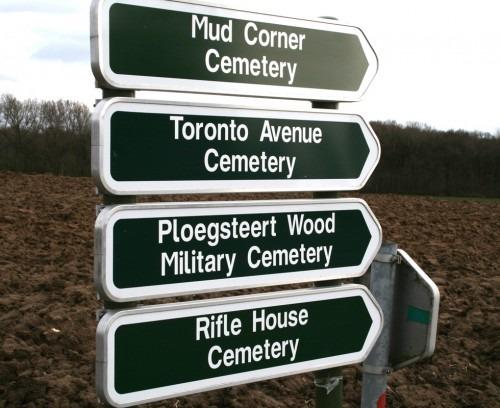 Mud Corner signs
