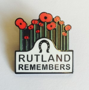 Rutland Remembers Badge